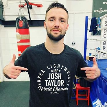 Josh Taylor: no crowd, no problem